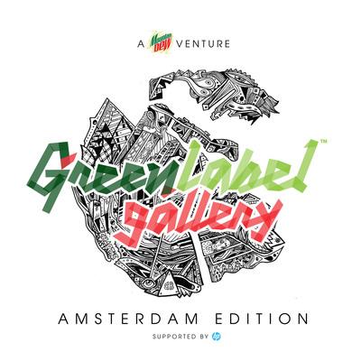 Mountain Dew® Green Label Gallery Exhibits Urban Art In Amsterdam