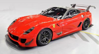 Ferrari 599XX Evo.  (PRNewsFoto/Ferrari)