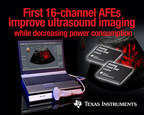 TI introduces the first 16-channel medical ultrasound AFE families, enabling maximum system efficiency