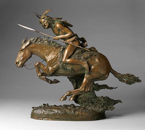 Frederic Remington,The Cheyenne. Courtesy of Denver Art Museum. (PRNewsFoto/VISIT DENVER)