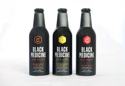 Black Medicine Iced Coffee, Iced Latte, Iced Mocha