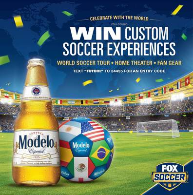 Modelo Especial Kicks off Summer with a Soccer Sweeps to Tour the World