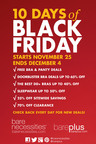 Bare Necessities Hosts 10 Days of Black Friday