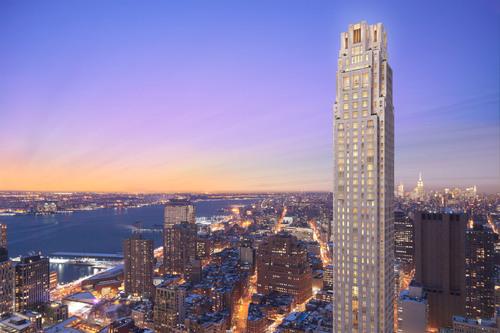 30 Park Place - Four Seasons Private Residences Downtown, New York (PRNewsFoto/30 Park Place)