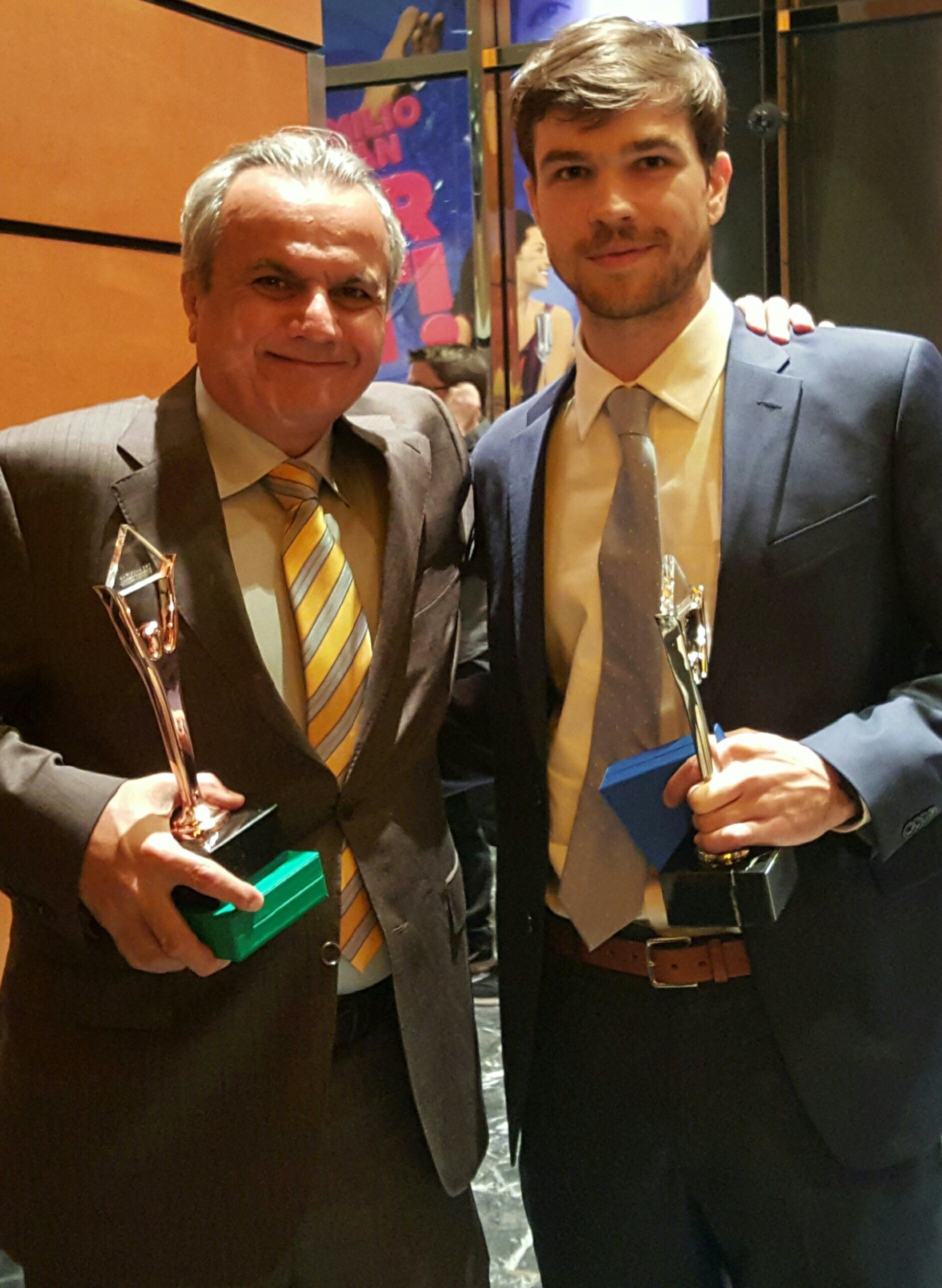 Henry Repeating Arms wins Customer Service and Social Media American Business Stevie(R) Awards.Anthony Imperato, President of Henry Repeating Arms (L) and Social Media Manager Dan Clayton-Luce