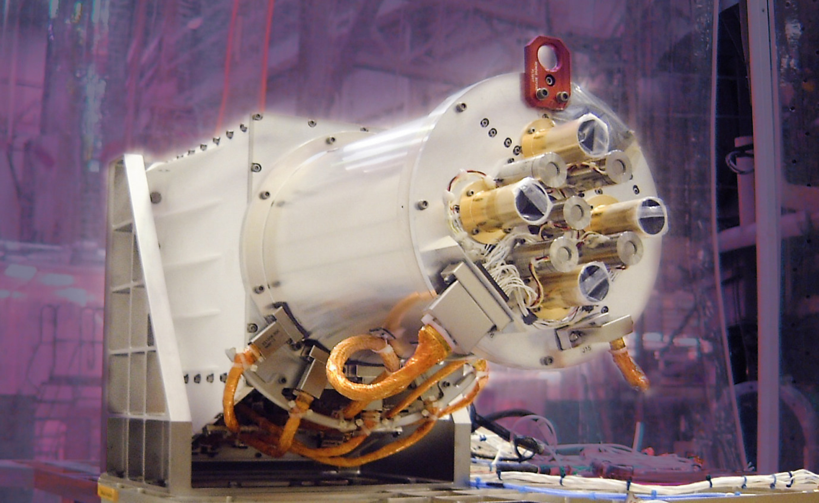 The Ball Aerospace-built radiometer for the NASA/NOAA Deep Space Climate Observatory mission is scheduled to launch from Cape Canaveral on February 8. The mission is designed to provide solar wind monitoring and forecasting and to aid scientists in measuring the energy exchange between the earth and sun.