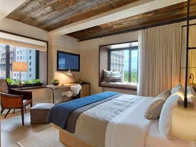 1 Hotel Central Park, Park King Room. Photo Credit Eric Laignel.