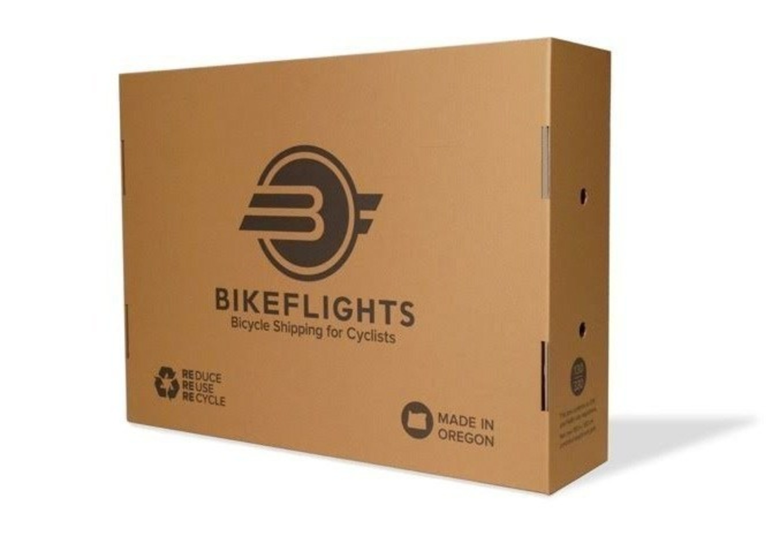 BikeFlights.com's new cardboard box for bike shipping is now available for purchase.