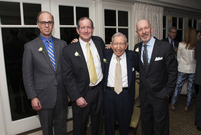 (Left to Right): Andrew W. Needham, Cravath, Sawine & Moore LLP; Samuel M. Maruca, Covington & Burling LLP; Leonard L. Silverstein, Founder of the Tax Management Portfolios; and Alden J. Bianchi, Mintz, Levin, Cohn, Ferris, Glovsky and Popeo, P.C.