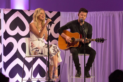The reigning Academy of Country Music(R) New Female Vocalist of the Year Kelsea Ballerini lent her voice to Mary Kay's Global Day of Beauty event in New York on May 12, 2016 to create awareness of domestic violence and dating abuse. By partnering with Mary Kay, Ballerini hopes to empower women and remind them of their beauty and self-worth.