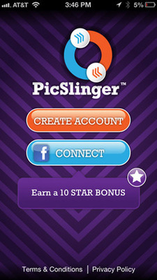 Each picture is worth a 1000 words, but a new iPhone game challenges players to guess just one. PicSlinger is a photo sharing/social game phenomenon captivating snap happy players and word slayers alike. Words, pictures and creativity collide in the addictive app, which has players everywhere giving it their best shot.  (PRNewsFoto/Fits & Starts)