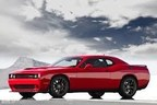The 2015 Dodge Challenger SRT Hellcat is expected to arrive before the end of the year. (PRNewsFoto/Marino Chrysler Jeep Dodge)