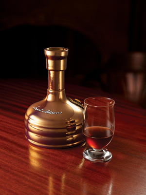 Samuel Adams Utopias is such a rare beer that Crystal guests will have to wait several months from now until it's available on board.  (PRNewsFoto/Crystal Cruises)