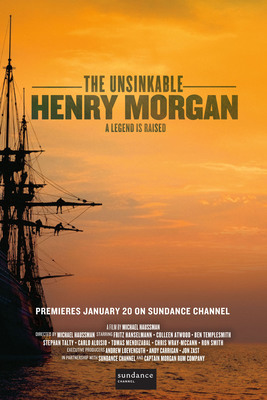 The Unsinkable Henry Morgan, a documentary film exploring the myths and legends surrounding Captain Henry Morgan's conquests in Panama will premiere on Sundance Channel this Sunday, January 20, 2013.  (PRNewsFoto/Diageo)