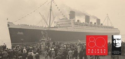 Launched on Scotland's River Clyde in 1934, the most advanced passenger ship of the era endured over two years 'fitting out' before her maiden voyage began on May 27, 1936. A day to remember in celebration of an unforgettable occasion - the Queen Mary's 80th Anniversary, May 27, 2016.