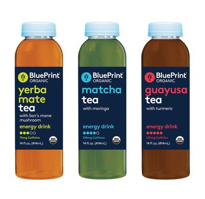 BluePrint(R) Organic Tea Infused Energy Drinks