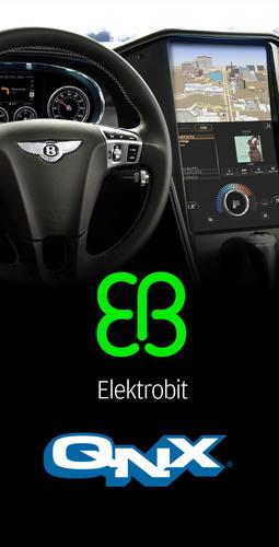 Elektrobit and QNX: Driving the Connected Car.  (PRNewsFoto/Elektrobit)