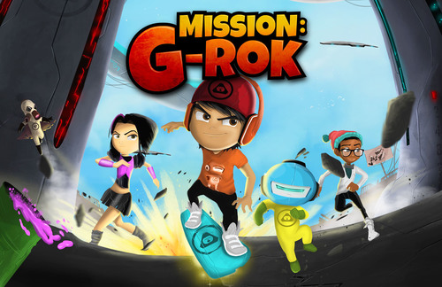 MISSION G-ROK by greenRok. (PRNewsFoto/greenROKS) (PRNewsFoto/greenROKS)