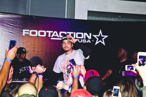 Footaction and J. Cole