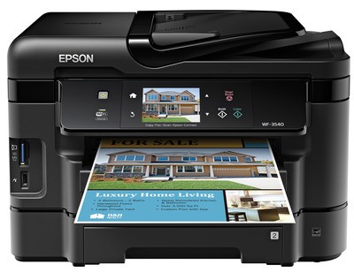 Epson expands line of high performance business printing solutions with new WorkForce All-in-Ones.  (PRNewsFoto/Epson America, Inc.)