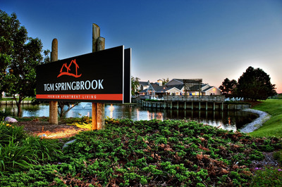 TGM Springbrook - Apartment Community in Aurora, IL.  (PRNewsFoto/TGM Associates)