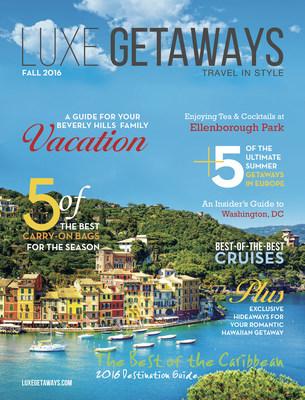 Cover: LuxeGetaways Magazine