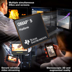 The new OMAP 5 platform from Texas Instruments.  (PRNewsFoto/Texas Instruments Incorporated (TI))