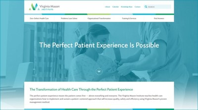 Virginia Mason Institute, a leading lean education resource for health care organizations, announced today the launch of its redesigned website, at virginiamasoninstitute.org. (PRNewsFoto/Virginia Mason Institute)
