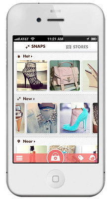 Snapette users can browse for nearby, must-have items.  (PRNewsFoto/Snapette)