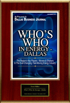 "Traci Miller Selected For ""Who's Who In Energy - Dallas"".  (PRNewsFoto/American Registry)"