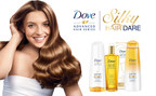 "Dove(R) Hair to Launch ""Silky Hair Dare"" Campaign and Sweepstakes on CBS's Daytime Emmy Award-nominated talk show THE TALK (PRNewsFoto/Dove Hair)"