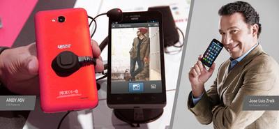 YEZZ Mobile. (PRNewsFoto/YEZZ) (PRNewsFoto/YEZZ)