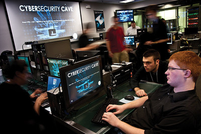 UAT's Cyber Security Lab provides a unique, high-tech, real-world learning space for students.