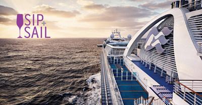 The Princess Cruises Sip & Sail event runs June 21, 2016 through August 31, 2016.