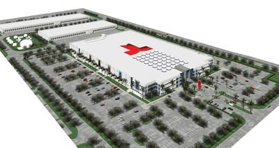 NBCUniversal Telemundo Enterprises Headquarters  - Aerial View