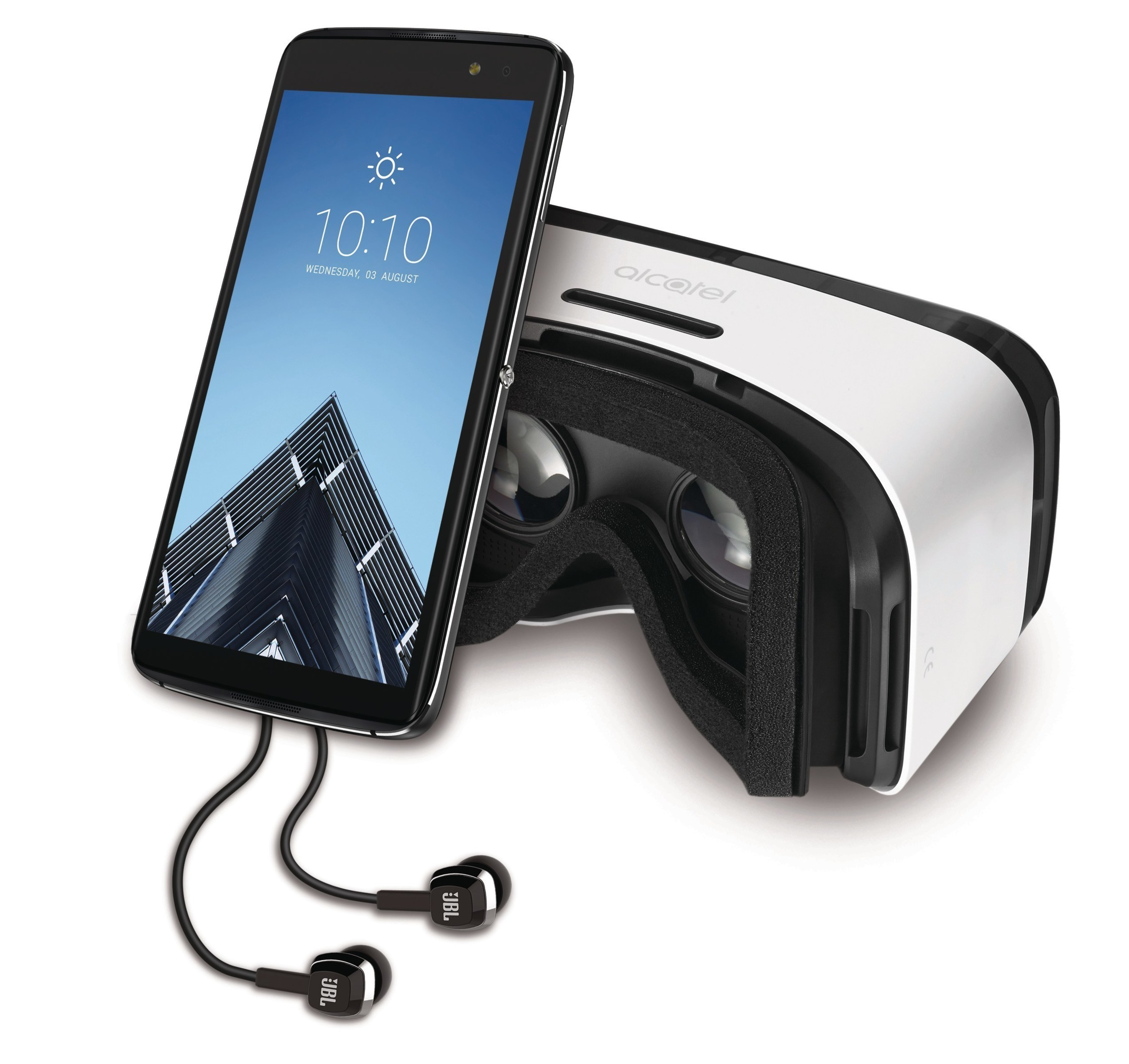 Delivering Unreal Value and User Experiences, Alcatel's IDOL 4S Smartphone Combines the Perfect Amount of Design and Features with an Industry First VR Goggle Packaging Bundle.