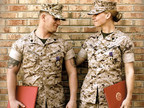Veteran Marine Sweethearts Benjamin and Samantha Christopher