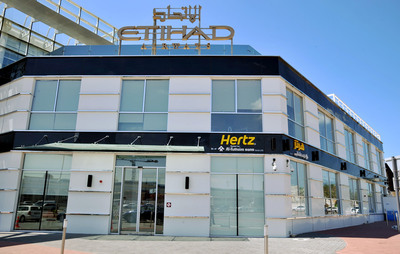 Hertz has opened a new car rental branch at The Etihad Travel Mall on Sheikh Zayed Road.