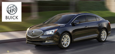 The 2014 Buick LaCrosse is available in Kenosha, Wis.  (PRNewsFoto/Palmen Buick GMC Cadillac)