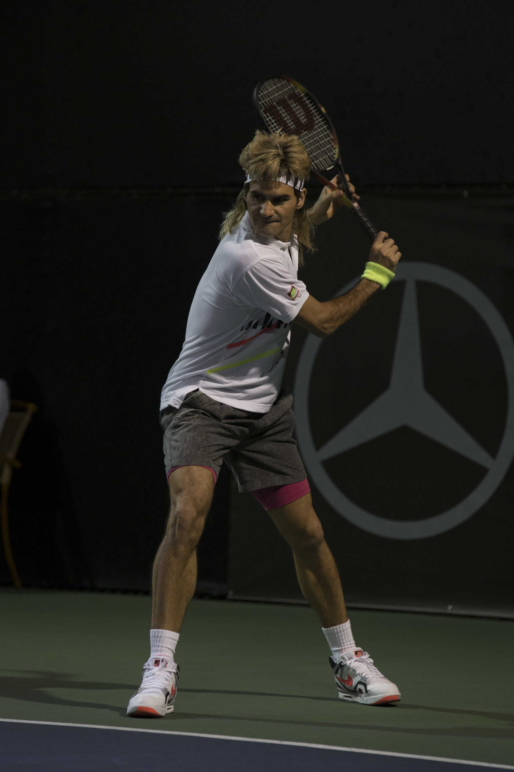 Mercedes-Benz Casts Roger Federer in the Role he was Björn to Play