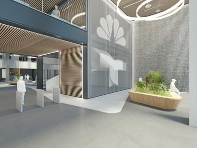 NBCUniversal Telemundo Enterprises Headquarters  - Entry View
