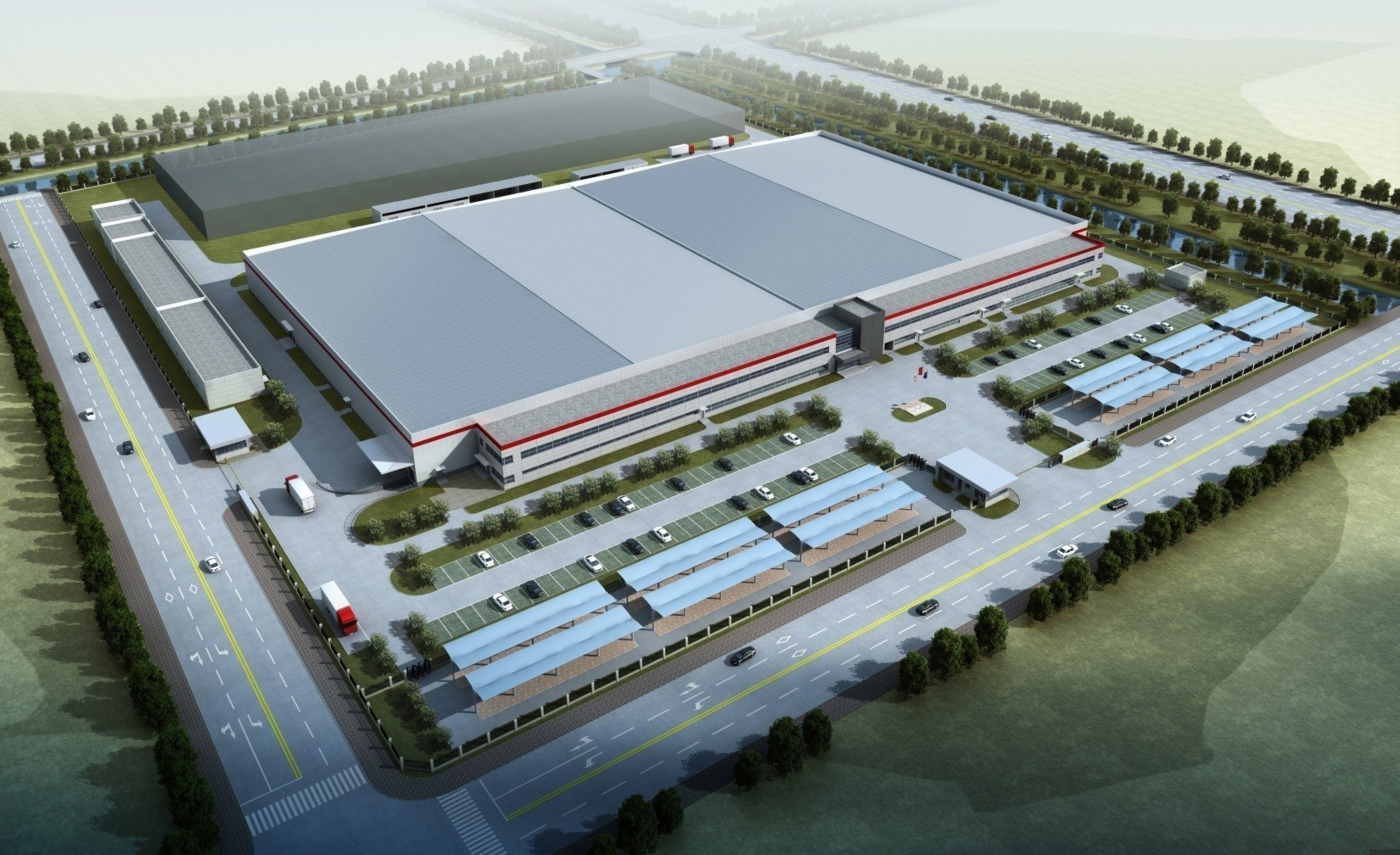Concept Rendering of Eagle Ottawa by Lear in Yangzhou, China