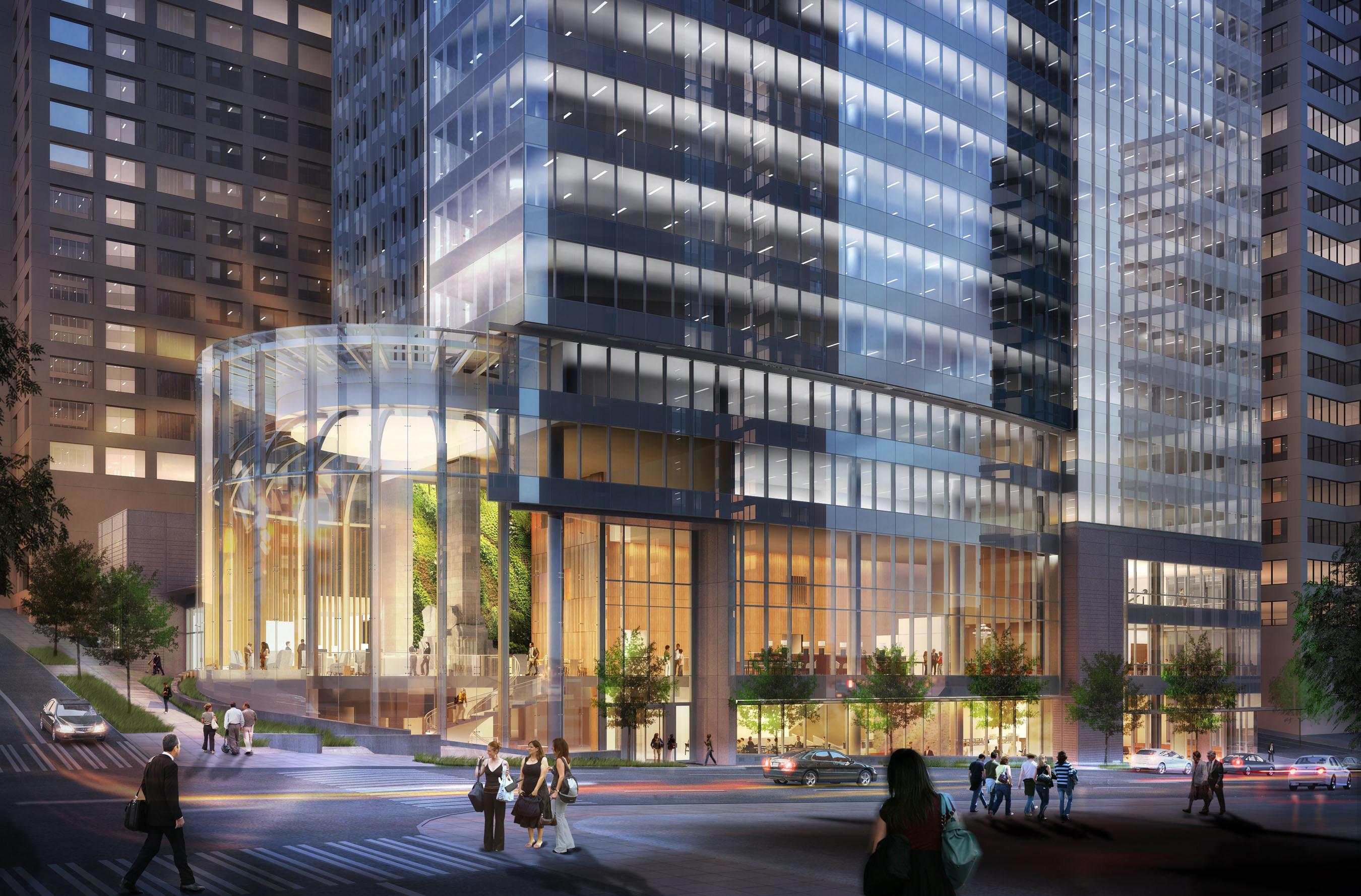 Rendering of Madison Centre, courtesy of Schnitzer West, LLC