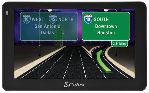 Cobra Unveils 5550 PRO Navigation System for Professional Drivers