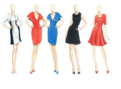 b michael AMERICA RED Collection Debuts with Effortless Pieces for the Modern-Chic Woman