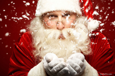 If decking the halls and busting out the egg nog helps you feel merry and bright, be warned. It doesn't make everyone feel that festive. While Santa may know if you've been naughty or nice, he isn't quite as much of an expert on real estate.  (PRNewsFoto/RealtyPin.com)