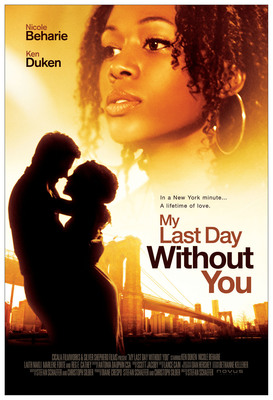 My Last Day Without You starring Nicole Beharie in select theaters October 4th. MyLastDayWithoutYou.com.  (PRNewsFoto/Cicala Filmworks)