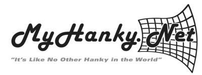 "My Hanky - ""It's Like No Other Hanky in the World"" MyHanky.Net.  (PRNewsFoto/My Hanky Inc.)"