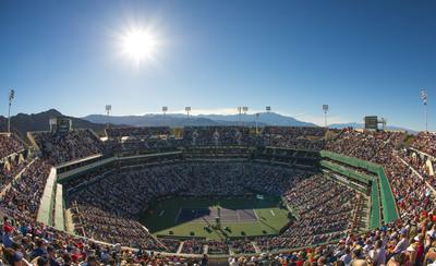 Indian Wells Tennis Garden, Indian Wells, CA-Stadium 1 (PRNewsFoto/Ruckus Wireless, Inc.)