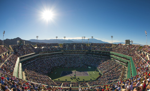 Indian Wells Tennis Garden, Indian Wells, CA-Stadium 1 (PRNewsFoto/Ruckus Wireless, Inc.)